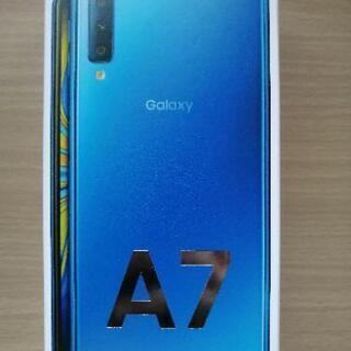 新品未開封Galaxy A7 ブルー 64 GB SIMフリー