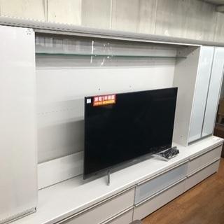 憧れのテレビボード!パモウナのVDシリーズ! 65インチも収納可能!