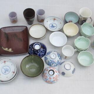 ☆無料☆地元のみ☆食器いろいろまとめてセット☆c茶碗 湯呑 小鉢...