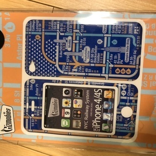 iPhone4/4S用 携帯シール
