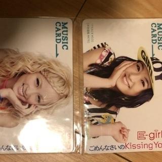 E-girls ミュージックカード