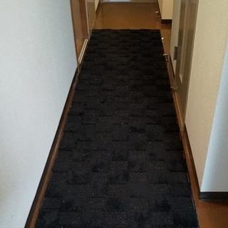 廊下敷きモザイクランナー80×340センチ