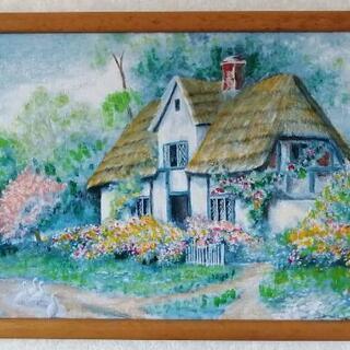 風景画『世話人のコテージ』
