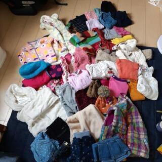 【商談中】女の子 冬服大量 90~100