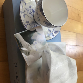 ウェッジウッド ペアカップ&ソーサー 新品未使用品