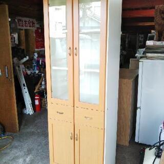 [ナチュラル食器棚]:リサイクルショップヘルプ