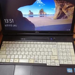 富士通 Lifebook 高性能第2世代Core i5搭載 メモ...