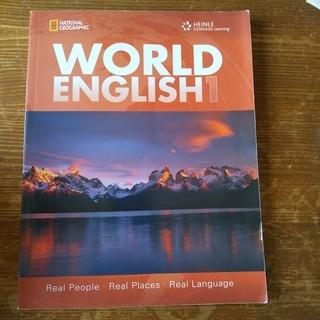 HEINLE WORLD ENGLISH1 【中古】