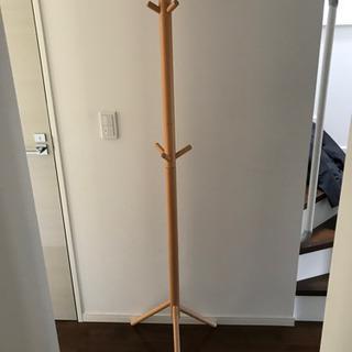 無印良品 コートハンガー ブナ材の画像