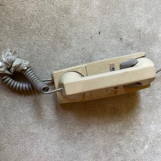 内線電話(昭和40〜50年代だと思う)AIPHONE