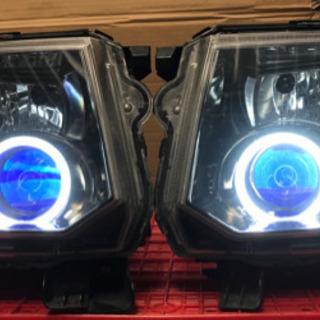 H82 EKスポーツ EKワゴン ヘッドライト イカリング 美品