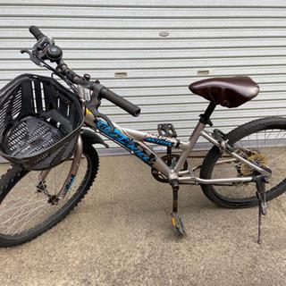 22インチ自転車/カギ付 PayPay可の画像