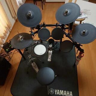 ヤマハ DTX502 電子ドラム セット 追加シンバル ウーファ...