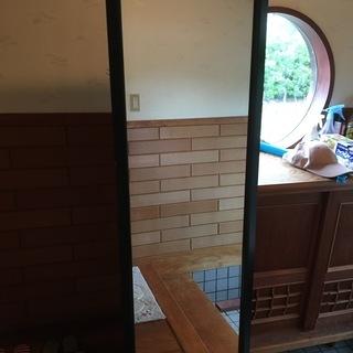 鏡 姿見 160 x 53   鹿児島県指宿市