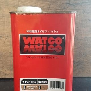 WATCO OIL ワトコオイル ダークウォルナット W-06  残量744g DIYの画像