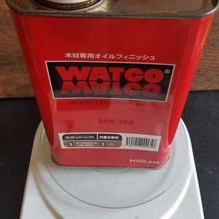 WATCO OIL ワトコオイル ダークウォルナット W-06  残量744g DIY − 千葉県