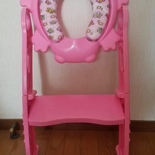 カリブ 補助便座 赤ちゃん ベビーグッズ ピンク