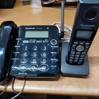 panasonic VE-GP35-K 固定電話 子機付き 8/...