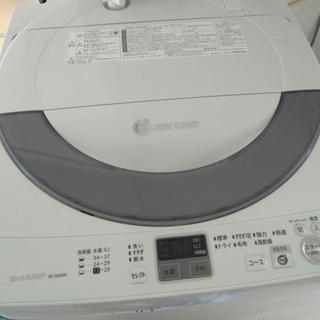 洗濯機 SHARP ES-GE55N 5.5kg  2014年製