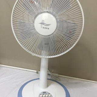<美品>ユーパ・30㎝リビング扇風機・5枚羽 TK–1204