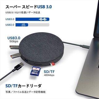 【新品・未開封】11 in 1 USB-C ハブ(ワイヤレス充電付) - パソコン