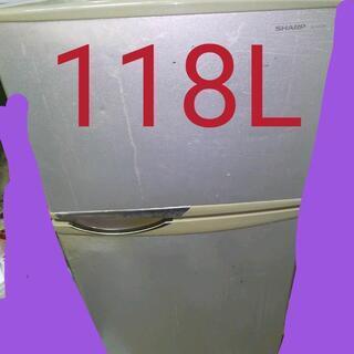 冷凍冷蔵庫 SJ-H12W-S 118L 2011年製