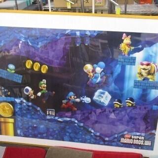 new スーパーマリオブラザーズ Wii ポスター NB877