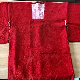 道行コート みちゆき 赤 着物 上着