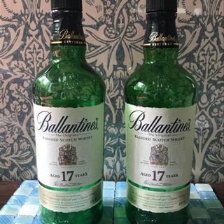 バランタイン17年 空き瓶