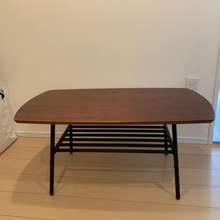 リビングテーブル ローテーブル ウォルナット 木