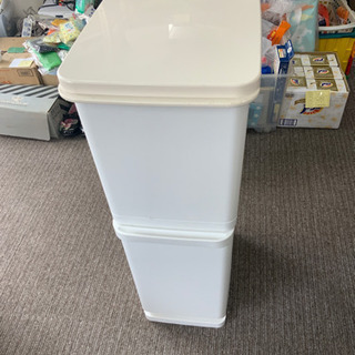 ゴミ箱 分別BOX  2段 中古^_^