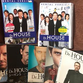 「Dr.HOUSE ドクター・ハウス コンプリート1〜8 」