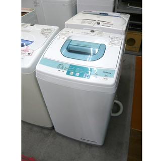 札幌 5.0kg 2014年製 全自動洗濯機 日立 NW-5SR...