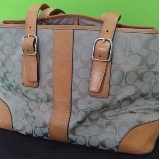 COACH シグネチャー ショルダーバッグ(保存袋あり)の画像