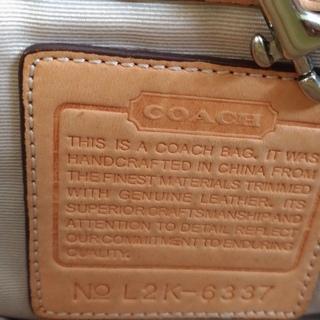 COACH シグネチャー ショルダーバッグ(保存袋あり) - 売ります・あげます