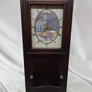 ◇壁掛け時計 鍵収納 ボックス