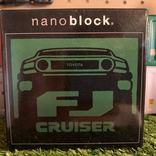 トヨタ FJクルーザー nanoblock 非売品