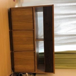 収納棚、テレビ台、本棚としても使えます