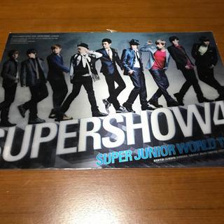 値下げ【未開封】K-POP韓流♡SUPERSHOW4*3Dポスター