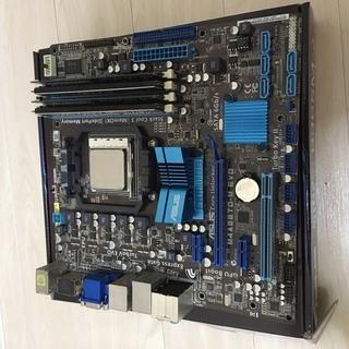 【中古】マザーボード+CPUセット(ジャンク)