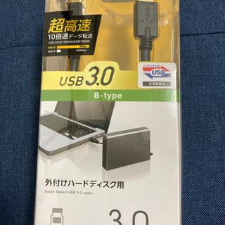 新品未使用ELECOM社製 PC用USBケーブル3m
