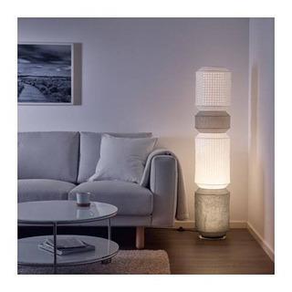 IKEA マヨルナ  フロアランプ  グレー ホワイト