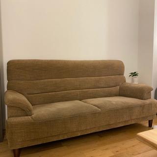 【値下げします!】美品 3人掛けソファ  使用約2ヶ月ほど