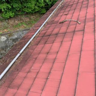 屋根塗り!草刈り!かたずけ!