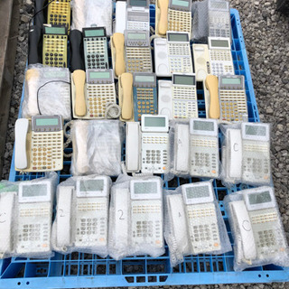 ビジネスフォン ビジネスホン NEC NTT 倒産品 70台以上