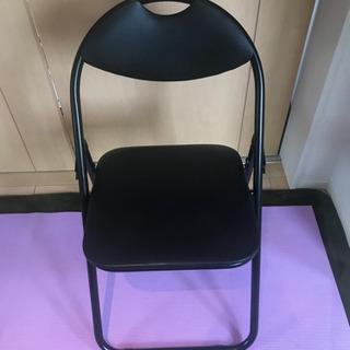 折りたたみパイプ椅子 美品