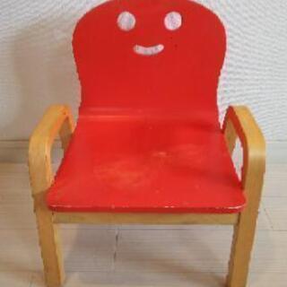 happiness キコリの小いす レッド