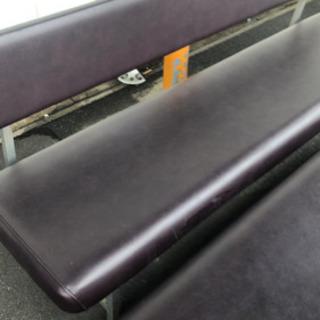 背もたれ付きクッション長椅子…1000円‼︎