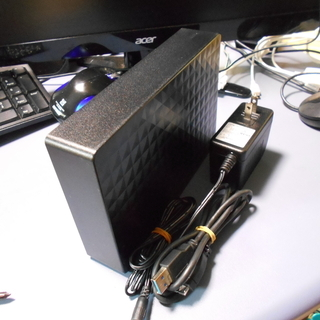 USB3.0  外付けハードディスク④  2TB 中古