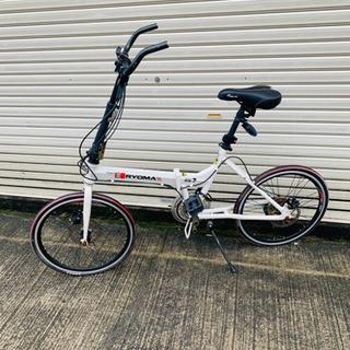 RYOMA RX7 アルミフレーム 折り畳み自転車 20イ…